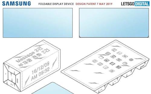 Tablet dobrável? Samsung registra intrigante patente, com três dobras!