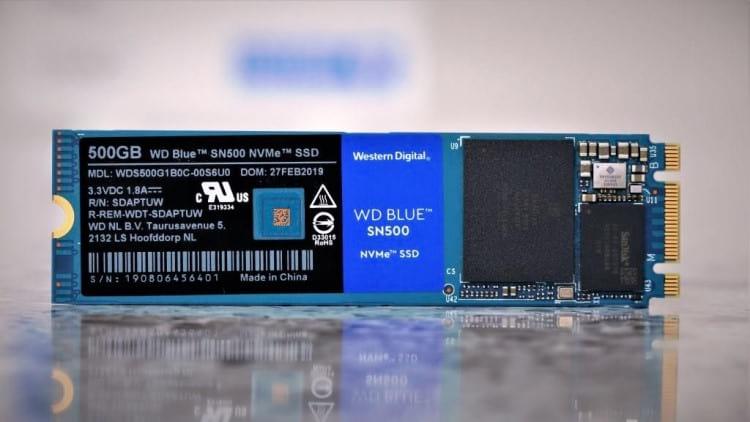 SSD SN500 NVMe