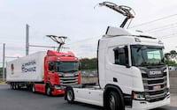 Alemanha está abrindo sua primeira rodovia elétrica para caminhões