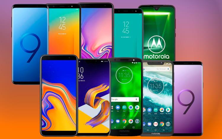 Top 10 smartphones de abril