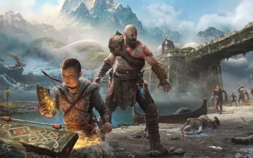"""Sony cria documentário """"Raising Kratos"""" mostrando os bastidores do último God of War lançado"""