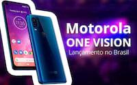 Motorola One Vision chega ao Brasil com processador Exynos, câmera dupla traseira com modo noturno e 128GB
