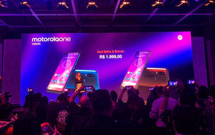 Preços do Motorola One Vision