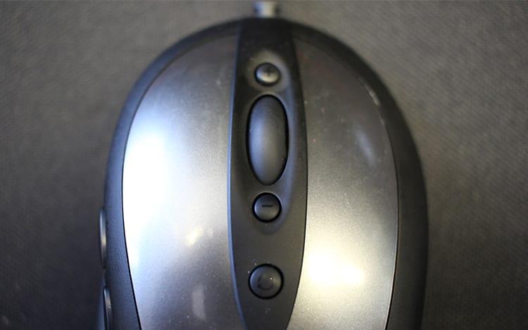 Botões extras superiores