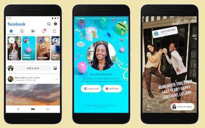 Como fazer vídeo ou cartão de aniversário no Facebook Stories