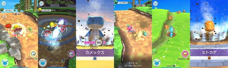 Em Pokémon Rumble Rush o jogador precisa explorar ilhas, recrutar Pokémons e vencer chefões.
