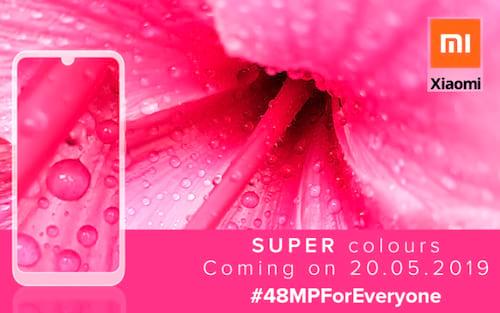 Redmi anuncia o Note 7S com uma câmera de 48MP na segunda-feira