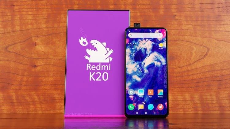 Imagens sugerem que Redmi K20 conte com câmera frontal retrátil de 20MP.