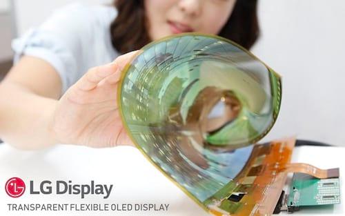 LG pode lançar smartphone com tela dobrável