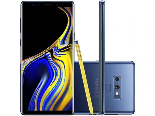 Antecessor do Galaxy Note 10, Galaxy Note 9 conta com câmeras traseiras na horizontal. A expectativa é de que os sensores no Note 10  sejam colocados na vertical.