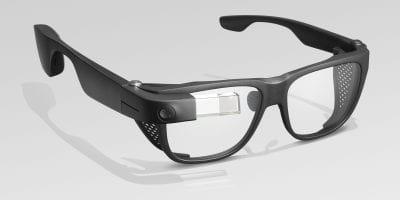 Design do Google Glass Enterprise Edition 2 não sofreu grandes alterações em relação ao modelo anterior.