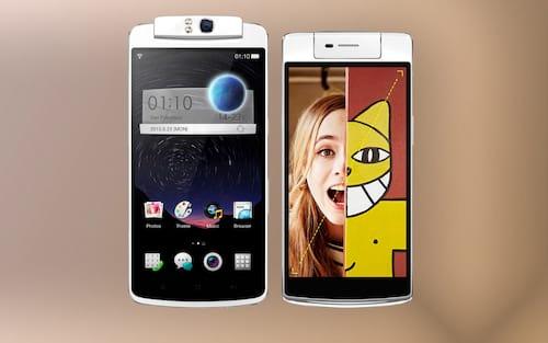 Oppo: Parece que o mundo vai começar a girar! Mais um smartphone com câmera giratória.