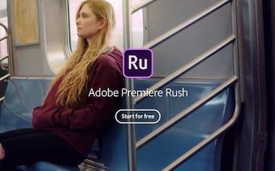 Editor de vídeo da Adobe, Premiere Rush já pode ser instalado no Android mas com uma condição...