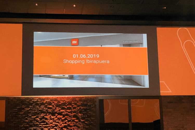 Primeira loja física da Xiaomi no Brasil será inaugurada no dia 01/06 no Shopping Ibirapuera, em São Paulo.