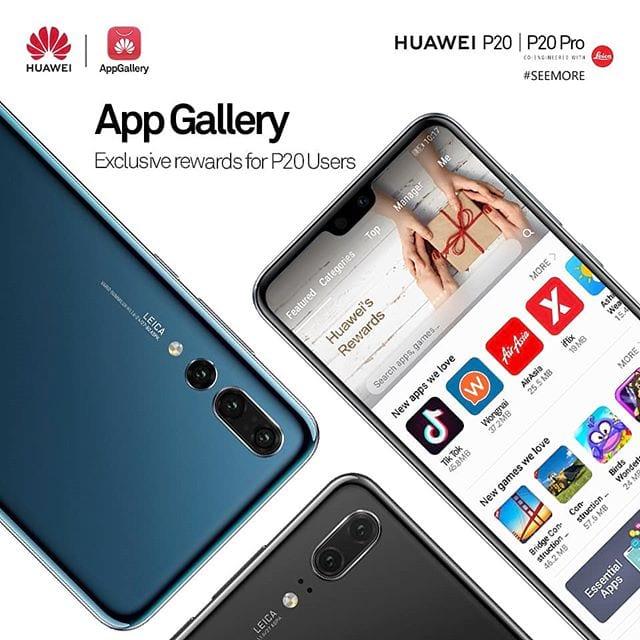 AppGallery da Huawei deve substituir a Play Store do Google.