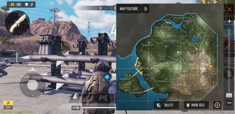 Imagens da versão beta do jogo