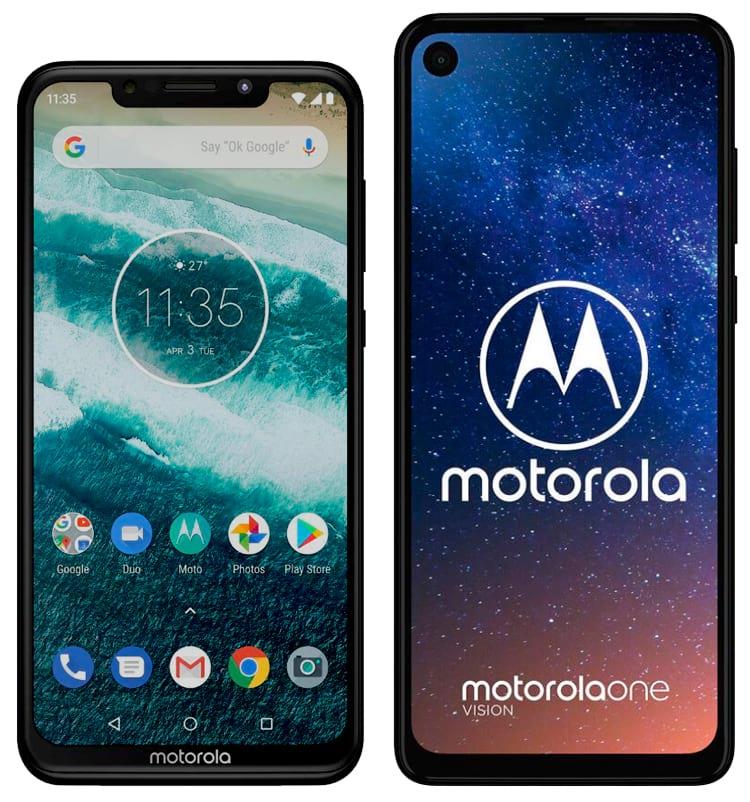 Motorola One e One Vision