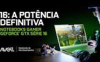 Avell anuncia notebooks equipados com GeForce série 16 e Intel Core de 9ª Geração