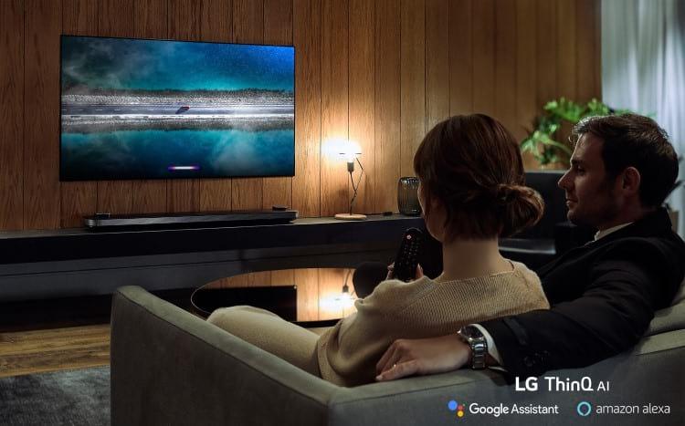 Imagem promocional do novo televisor
