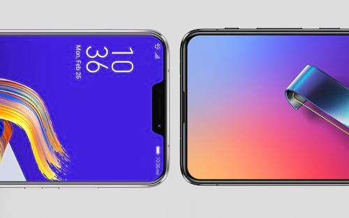 Quais as diferenças entre o Asus Zenfone 5 e o Zenfone 6?