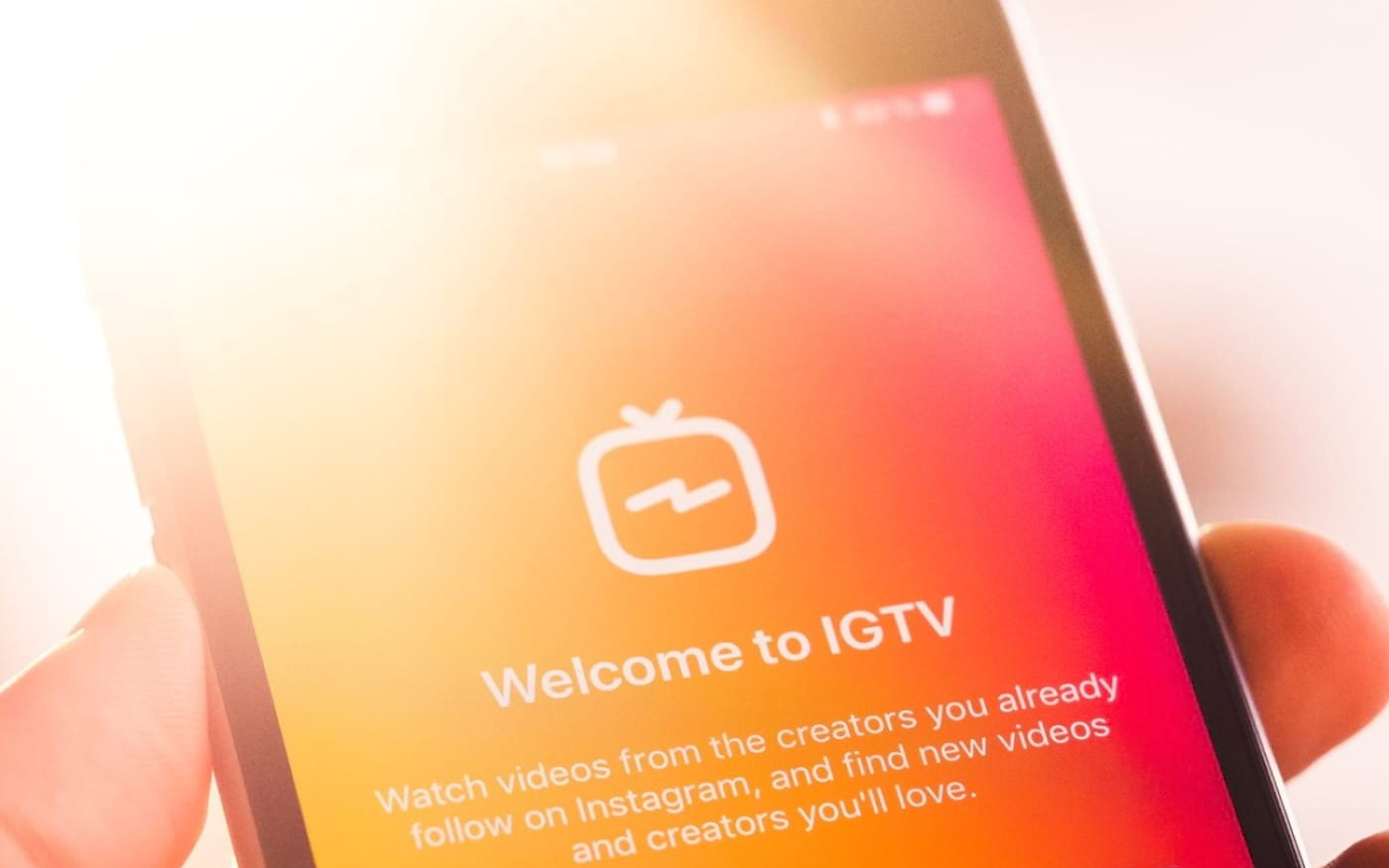 Instagram enfim libera vídeos na horizontal dentro do IGTV