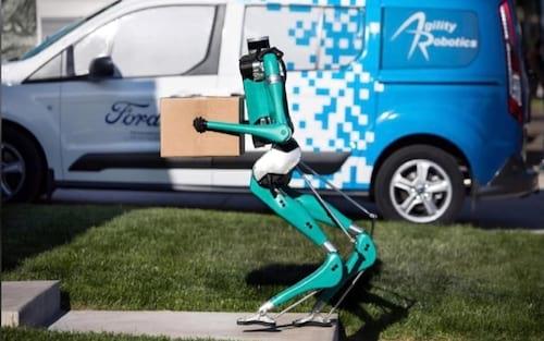 Ford apresenta o Digit: robô humanoide para entrega de encomendas