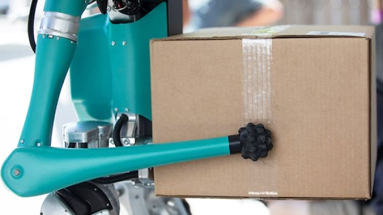 Robô Digit desenvolvido em parceria com a Ford