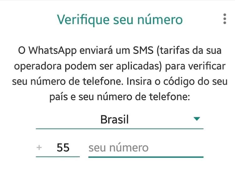 Criminosos solicitam ao usuário o código enviado por SMS pelo WhatsApp para ativar a conta.