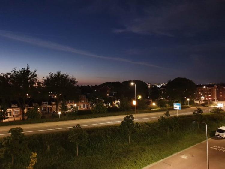 Foto tirada com o Modo Noturno antes da atualização.