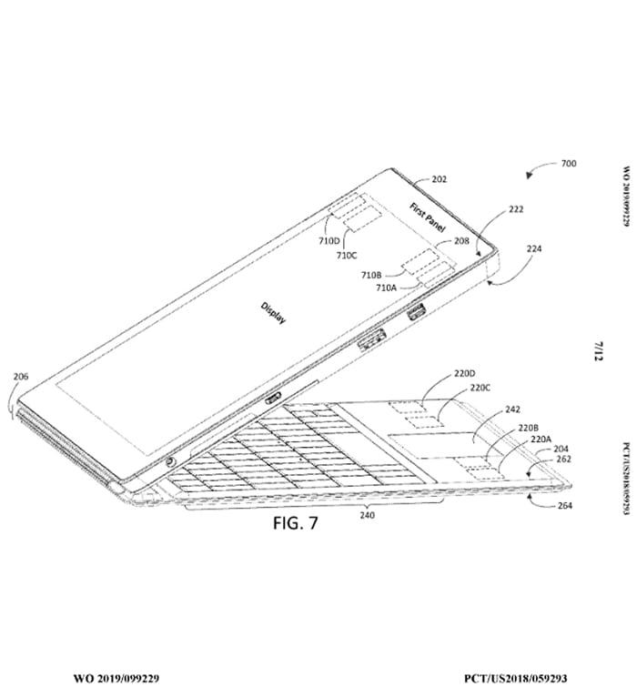 Patente mostra teclado com conexão diferente