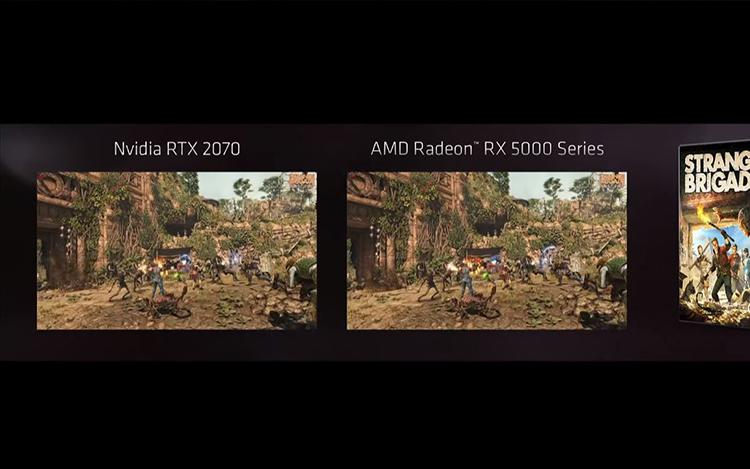 RX 5000 Series vs RTX 2070