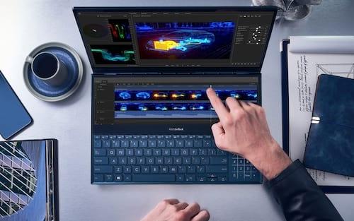 Asus revela display de jogos portáteis, novos laptops com duas telas e muito mais