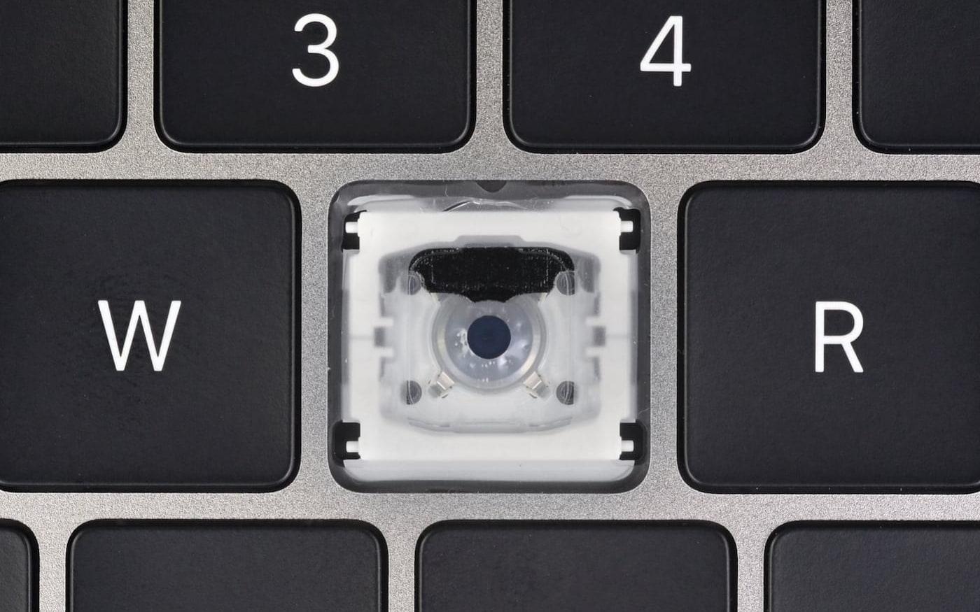 Uma primeira olhada no novo teclado do MacBook Pro