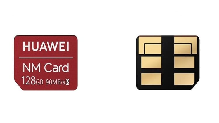 Nano Memory Cards desenvolvidos pela Huawei
