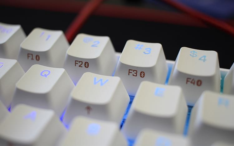 Teclas relacionadas ao Bluetooth