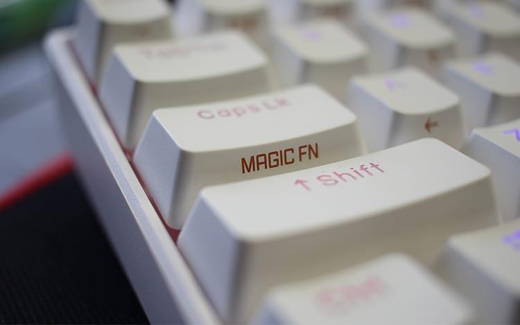 Capslock + Magic FN