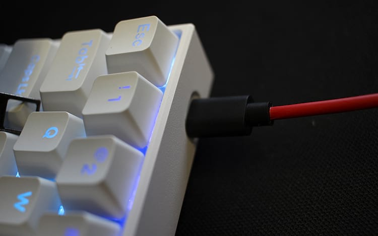 Entrada USB-C