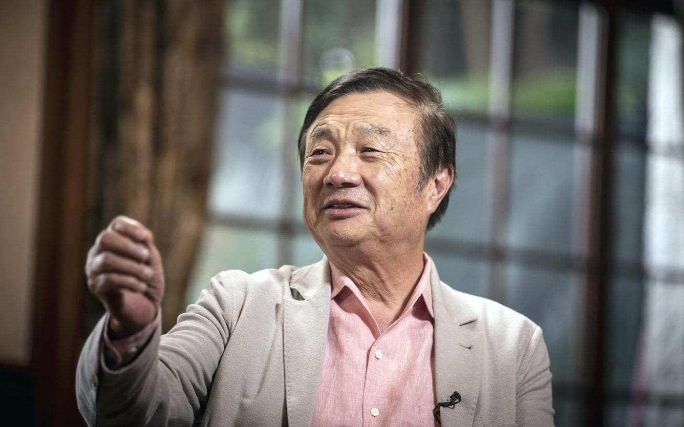Ren Zhengfei, fundador da Huawei, diz que vai protestar se a China lançar retaliação contra a Apple
