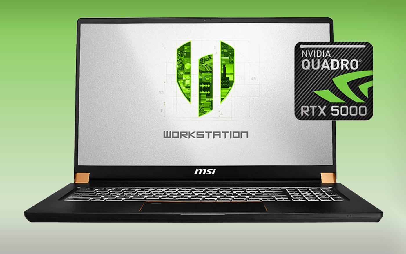 A NVIDIA está trazendo GPUs Quadro RTX de nível profissional para notebooks