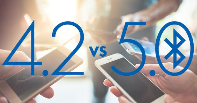 Diferenças entre Bluetooth 4.2 e 5.0