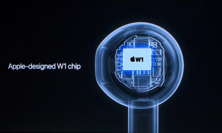 Chip W1 da Apple