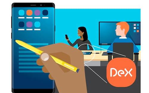 Patentes da Samsung DeX Live, vai oferecer espelhamento de exibição sem fio