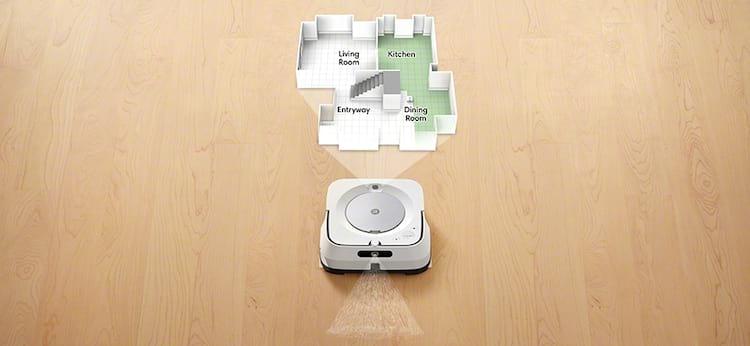 Mapeamento de cômodos - Função presente em ambos os robôs de limpeza