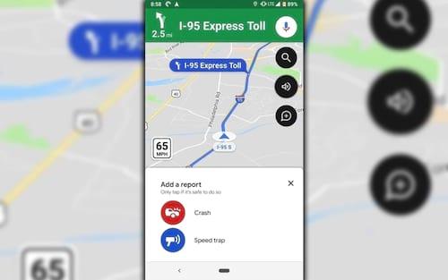Google Maps recebe alertas de radar e limites de velocidade no Brasil