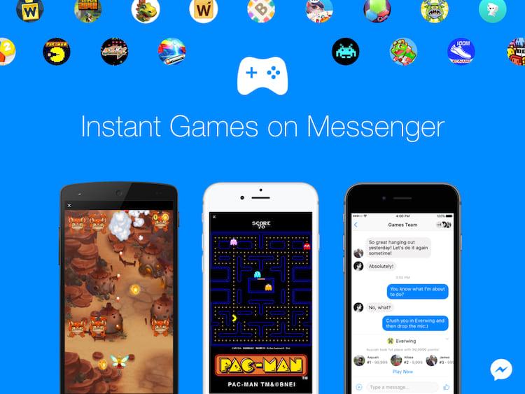 Os chamados Instant Games para o Messenger, são os jogos rápidos que podem ser jogados diretamente do aplicativo de bate-papo do Facebook