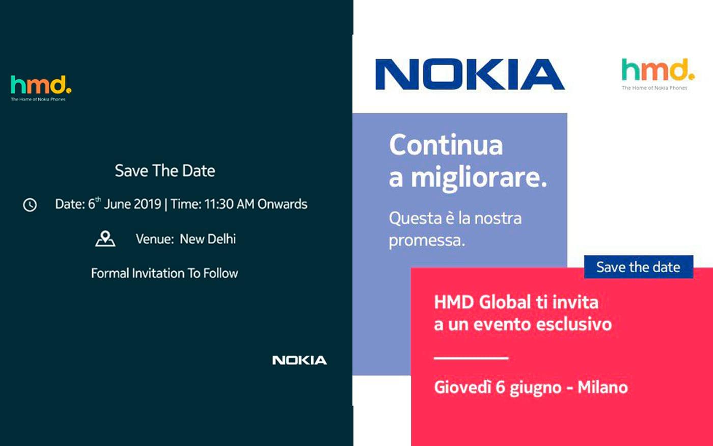 Lançamentos Nokia: Dia 6 de junho teremos evento da empresa na Índia e na Itália
