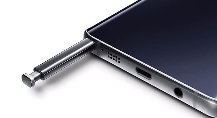 Caso o argumento da Samsung seja tirar botões e entrada para aumentar o espaço para bateria, como vão fazer com a entrada da S Pen?
