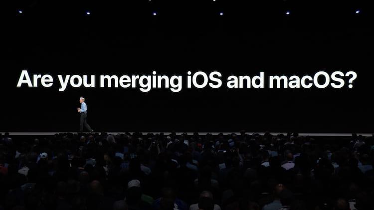 Desde o ano passado estamos de olho no Projeto Marzipan, o esforço para fazer aplicativos para iPhone e iPad rodarem em Macs.