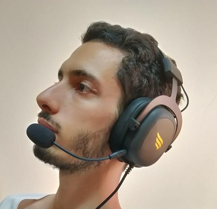 Teste do headset Fallen Morcego