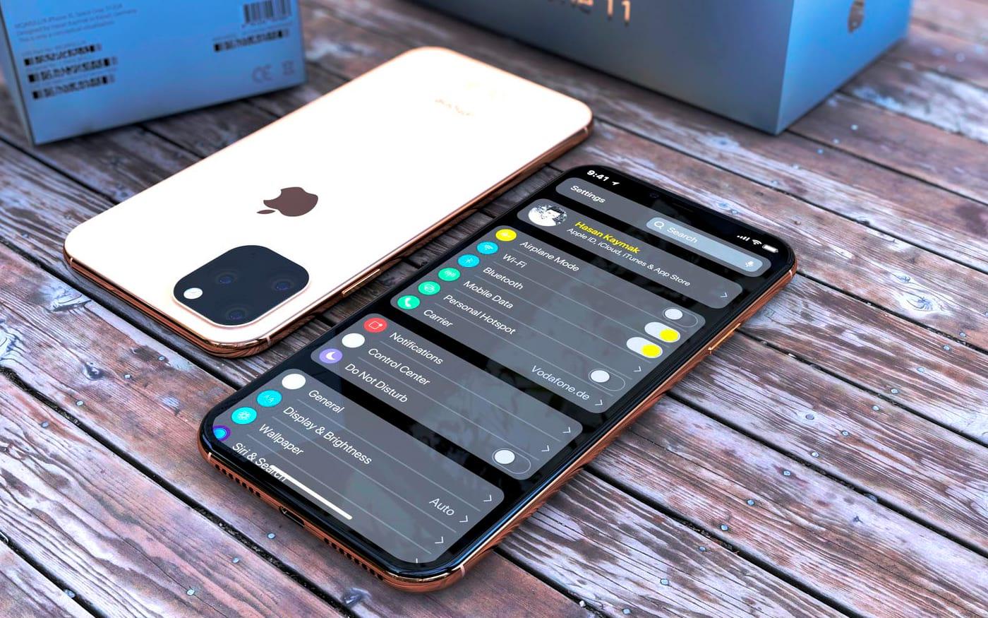 Vazam fotos das cases dos iPhone XI, iPhone XIR e iPhone XI Max
